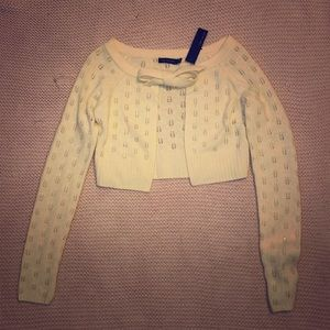 The Limited cropped cardigan S